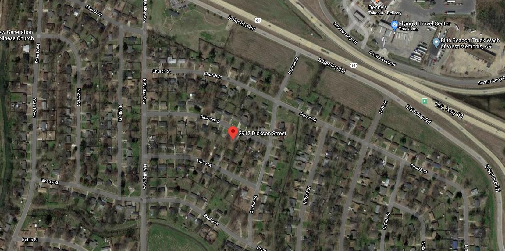 2917 Dickson St, West Memphis, AR 72301